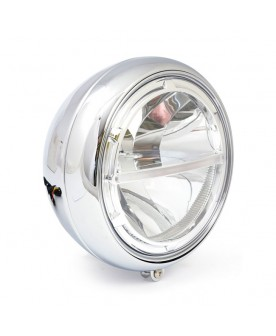 Phare chrome LED 7""