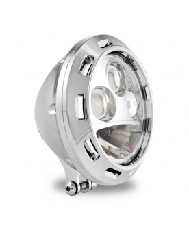"Phare chrome 5""3/4 ,LED"