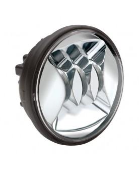 Optique de phare chrome...