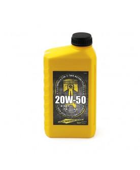 Huile moteur 20w50 , 1 litre