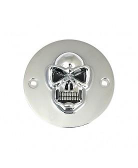 Cache allumage chrome skull...