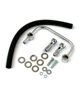 Kit reniflard 1/2-13, chrome