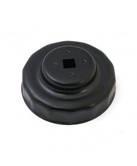 Clé de filtre à huile noir