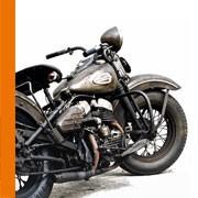 Vente en ligne équipement moto Harley - Modèle WL - Custom Chopper